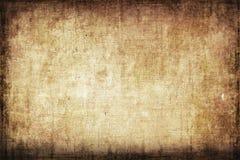 Grungy Segeltuch-Hintergrund Lizenzfreies Stockbild