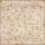 Grungy sepia patterned background Royalty Free Stock Photo