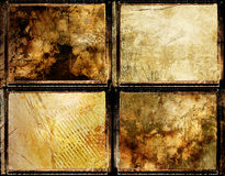 Grungy set. Geat set of grungy framed backgrounds Royalty Free Stock Photos