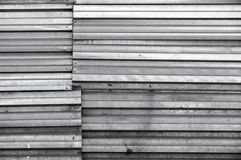 Grungy shining dark gray metal wall, texture Stock Photos
