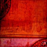 Grungy sjofel frame royalty-vrije illustratie