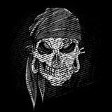 Grungy Skull Royalty Free Stock Images