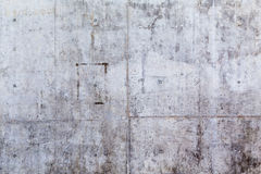 Grungy and smooth bare concrete wall Royalty Free Stock Photography