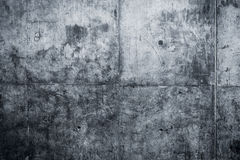 Grungy and smooth bare concrete wall Stock Images