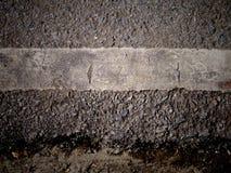 Grungy smutsig sikt av asfalt Fotografering för Bildbyråer