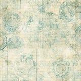 Grungy snöra åt den Doiley bakgrundsdesignen Arkivbilder