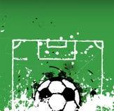 Grungy soccer / football illustration, Stock Image