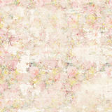 Grungy soft pastel abstract vintage floral shabby chic distressed textured wallpaper background Royalty Free Stock Images