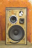 Grungy speaker Stock Images