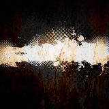 Grungy Splatter Template royalty free illustration