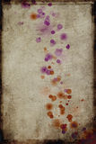Grungy spots. Grungy background with glowing spots Royalty Free Stock Photos