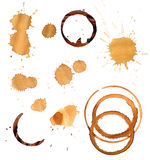 Grungy stains collection Stock Photos