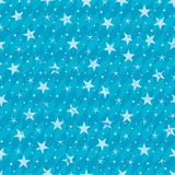 Grungy star seamless pattern Stock Images