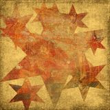 Grungy stars Stock Image