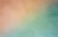 Grungy Stary Papierowy Pusty Brown I Błękitna tekstura Fotografia Stock