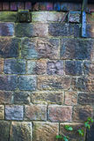 Grungy stone wall background Royalty Free Stock Images