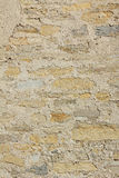 Grungy stone wall with concrete Stock Images