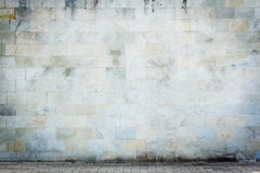 Grungy Straßenwand Lizenzfreies Stockbild