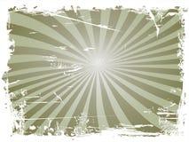 Grungy straalachtergrond royalty-vrije illustratie