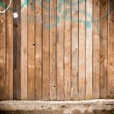 Grungy straatmuur Stock Afbeelding