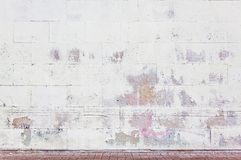 Grungy street wall Royalty Free Stock Photography