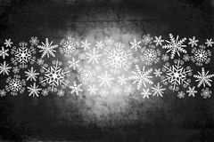 Christmas background in dark gray Royalty Free Stock Photography