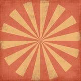 Grungy sunburst royalty free stock image