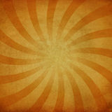 Grungy sunburst Stock Images