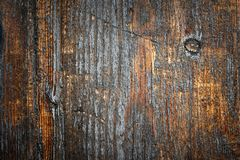 Grungy surface of old painted wood Stock Photography