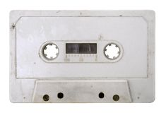 Grungy Tape w/ Path Royalty Free Stock Photography
