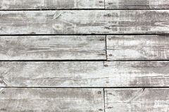 Grungy texture of natural old grey wooden boards Stock Photography