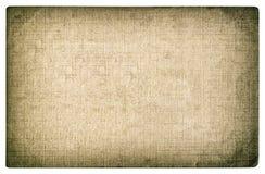 Grungy textured papierowy tło Fotografii karcianych krawędzi winieta Zdjęcia Royalty Free
