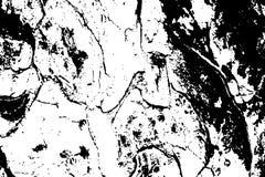 Grungy textuur van de boomschors Zwart-wit schorsornament vector illustratie