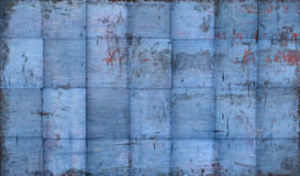 Grungy Tiled Blue Background Royalty Free Stock Image