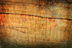 Grungy timber panel Royalty Free Stock Images
