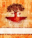 Grungy tree Royalty Free Stock Photo