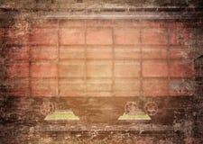 Grungy treindetail Stock Foto's