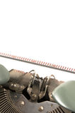 Grungy typewriter Stock Photo