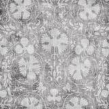 Grungy uitstekende bloemenachtergrond van het damastplakboek vector illustratie