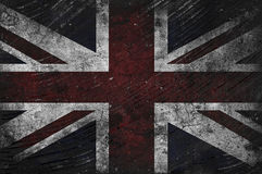 Grungy UK Flag Royalty Free Stock Images