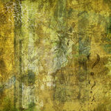Grungy urban backdrop. Grungy urban background in green with copyspace Royalty Free Stock Photos