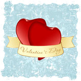 Grungy Valentine's Day Background Royalty Free Stock Photo