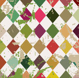 Grungy vector background illustration raster Stock Images