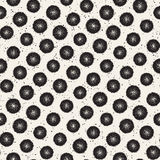 Grungy vector pattern with scattered circle shapes. Seamless texture abstract background print, fabric, textile. Card, wrapping paper, wallpaper vector illustration