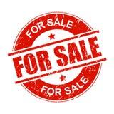Grungy verkoopzegel stock illustratie