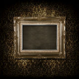 Grungy victorian frame Stock Images