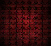 Grungy Victorian Retro Wallpaper royalty free illustration