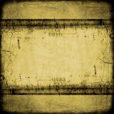 Grungy vintage backdrop Stock Photography