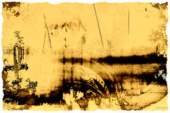 Grungy vintage background Royalty Free Stock Image