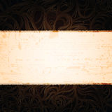 Grungy vintage banner Royalty Free Stock Image